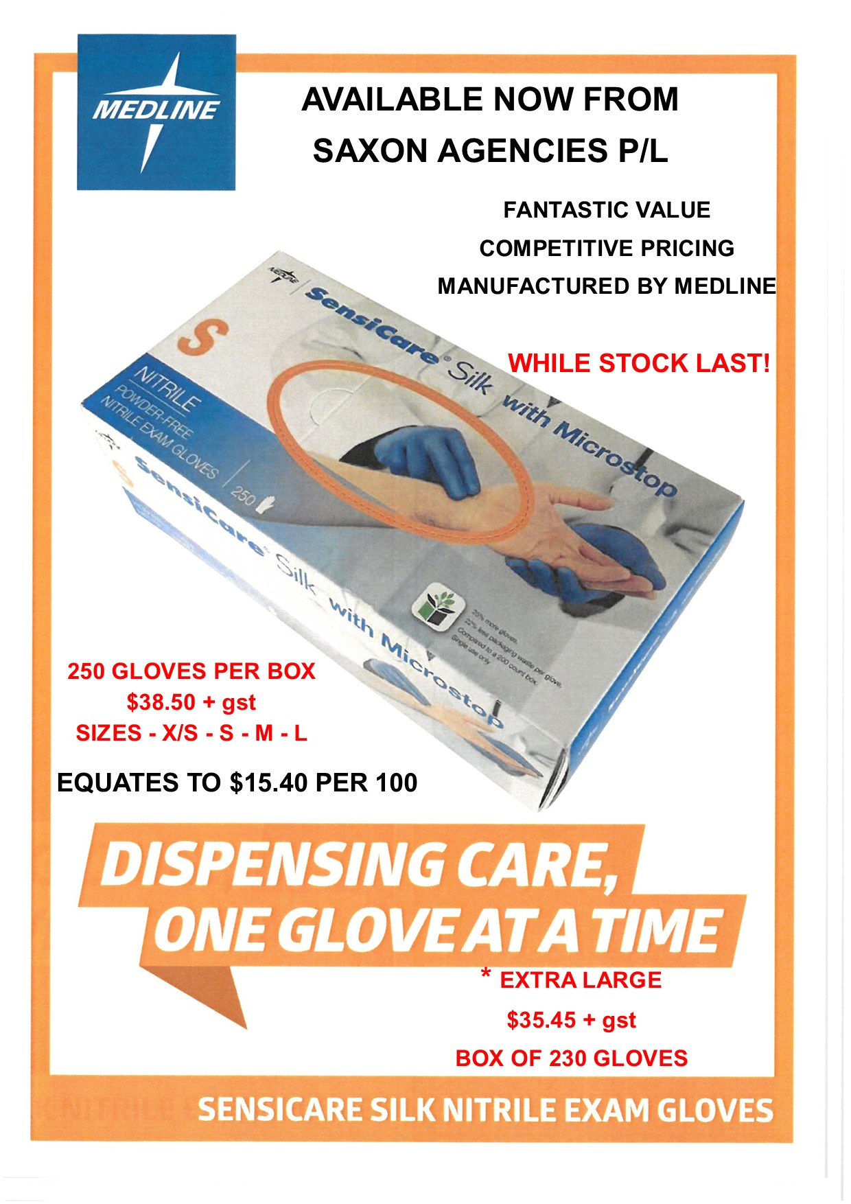 Super Specials - Nitrile Gloves
